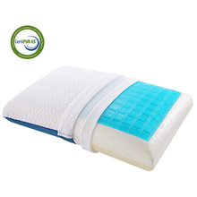 Gel Memory Foam Cooling Pillow